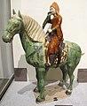 Dinastia tang, cavalliere suonatore, henan, 700-715 ca..JPG