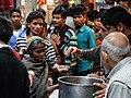 Distribution of Food from Street Kitchen - Amritsar - Punjab - India (12675516265).jpg