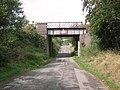 Disused Railway Bridge near Buckland - geograph.org.uk - 49461.jpg
