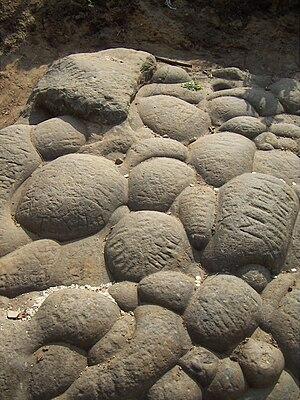 Golosov Ravine - Diviy Stone surface