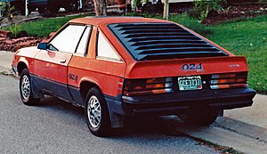Dodge Omni 024 - Rear view of 1979-1980 Dodge Omni 024
