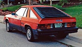 Dodge Omni 024 - Rear view of 1979-1980 Dodge Omni 024
