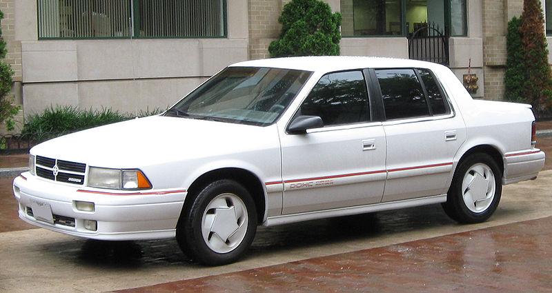Dodge Spirit 1992. Dodge Spirit R/T