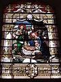Dohis (Aisne) église, vitrail nativité.JPG