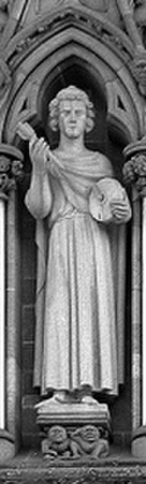 Hallvard Vebjørnsson - St Hallvard. Nidaros Cathedral