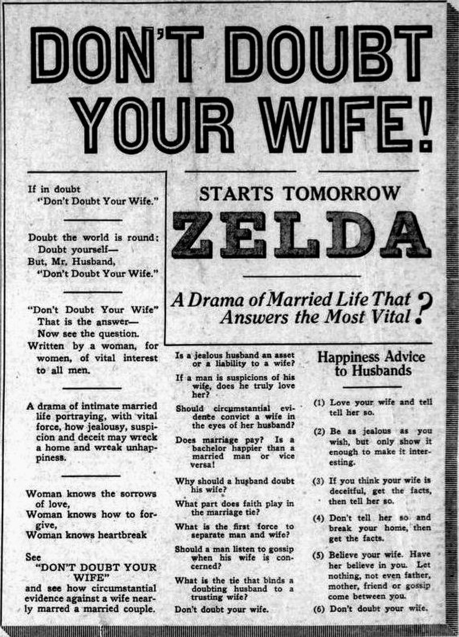 Don't Doubt Your Wife