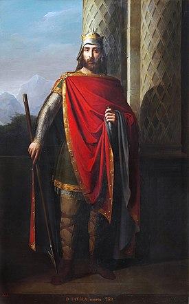 Don Favila, rey de Asturias (Museo del Prado).jpg