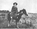 Dorothy Greathouse and her horse, Pinto 1922.png