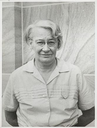 Dorothy Hill - Dorothy Hill, of the University of Queensland (Photo used with the permission of the University of Queensland Fryer Library)