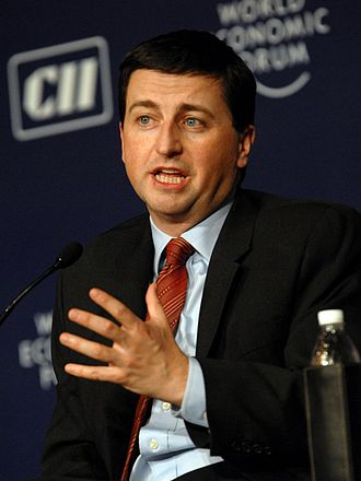 Secretary of State for Transport - Image: Douglas Alexander at the India Economic Summit 2008