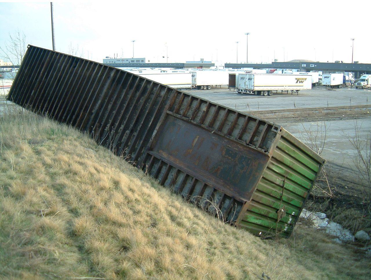 Intermodal Container Gooseneck Tunnel Dimensions New