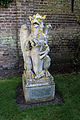 Downing College, Cambridge - Griffin statue.JPG