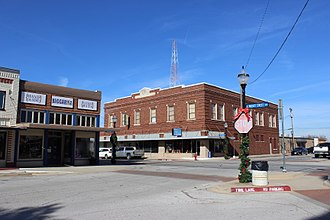 Decatur, Texas - Historic downtown Decatur, Texas
