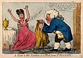 Dr. Flannel suggests to a fashionable lady that she wear a f Wellcome V0010970.jpg
