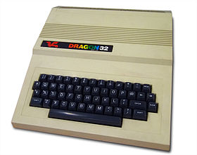 Dragon 32 Home Computer (1982)