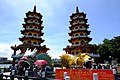 Dragon and Tiger Pagodas on a sunny day.jpg