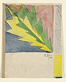 Drawing, Design for a Textile with Stylized Leaf, 1911 (CH 18684903).jpg