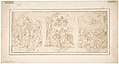 Drawing for Ceiling Decoration Consisting of Three Panels Each Showing a Different Scene with Figures MET DP803292.jpg