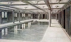 Drawing of the First Class Swimming baths on the RMS Aquitania.jpg