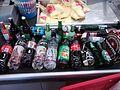 Drinking bottles on supermarkets counter.jpg