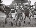 Drouin schoolboys playing, Drouin, Victoria (6173550243).jpg