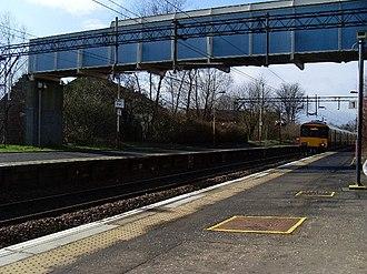 Drumry railway station - Image: Drumry railway station 1