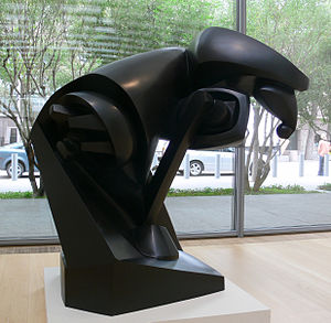 Nasher Sculpture Center - Large Horse by Raymond Duchamp-Villon