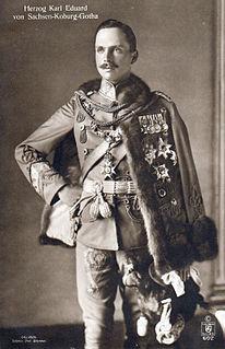 Charles Edward, Duke of Saxe-Coburg and Gotha Duke of Albany