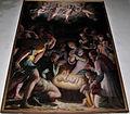 Duomo di colle, int., il poppi, natività (1567), 02.JPG