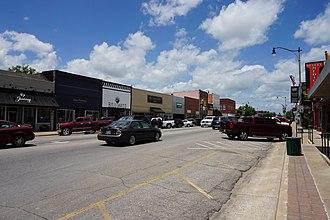 Durant, Oklahoma - Main Street in Durant