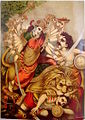 Durga Mahishasura-mardini, the slayer of the buffalo demon, Germany.jpg