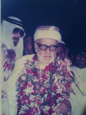Mohammed al Fassi - During his last visit to Sri Lanka in 1991 ash sheikh Dr Muhammad al-Fassi