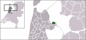 Andijk - Image: Dutch Municipality Andijk 2006