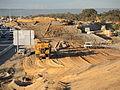 E37 Reid Hwy Malaga Dr interchange construction (22 June 2015) 09.JPG