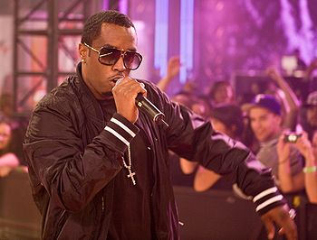 Diddy was the featured performer at the eTalk Festival Party.