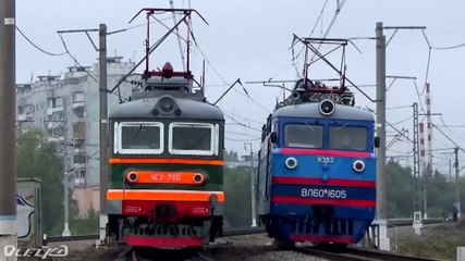 Железнодорожный транспорт в России Википедия Файл expo 1520 train parade in 2015 webm