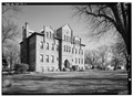 EXTERIOR, GENERAL VIEW FROM SOUTHWEST - Union County Courthouse, Courthouse Square, Elk Point, Union County, SD HABS SD,64-ELPO,1-1.tif