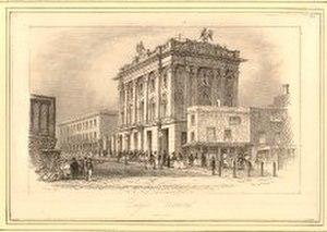 Benjamin Conquest - The Eagle Tavern in 1841.