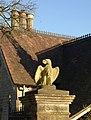 Eagle gatepost, Ozleworth Park - geograph.org.uk - 1650243.jpg