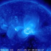 File:Earth-directed Coronal Mass Ejection.webm