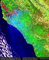 Earth from Space Soberanes Fire, Monterey County, CA, USA August 7th (28757557642).jpg