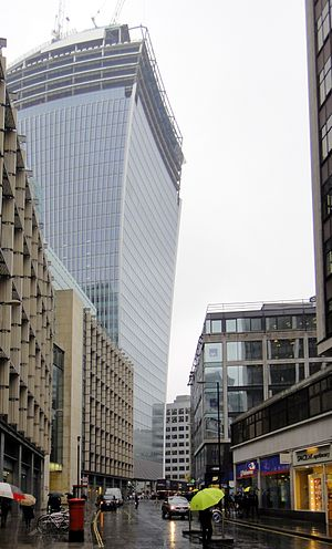 Fenchurch Street - Midway down Fenchurch Street, looking west