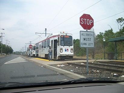 Eastwick Loop Platform; Route 36x2.JPG