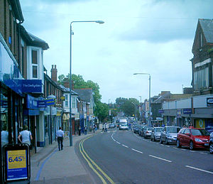 Eastwood, Nottinghamshire - Image: Eastwood Shops 4s