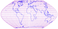 Eckert 6th projection of world with grid.png
