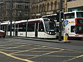 Edinburgh tram in Princes Street, 21 June 2014.jpg