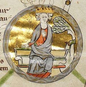 Edmund I - Edmund in the late thirteenth-century Genealogical Chronicle of the English Kings