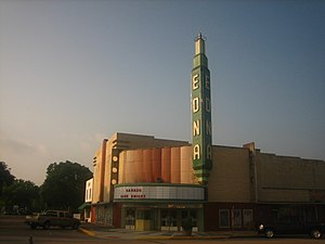 Edna, Texas - Though the Edna Theater closed in the 1972s, a group is seeking to revive it for community theater purposes.