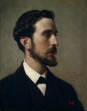 Eduardo Rosales - Eduardo Rosales (1867); portrait by Federico de Madrazo