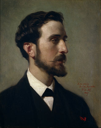 Eduardo Rosales - Eduardo Rosales, portrait by Federico de Madrazo, 1867